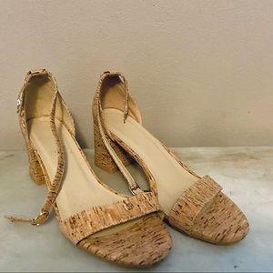 Cork Summer Strappy Sandals